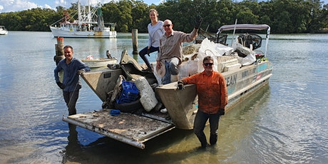 Volunteer Opportunity - Hardcore Clean - Port of Brisbane Low Tide Clean Up tickets