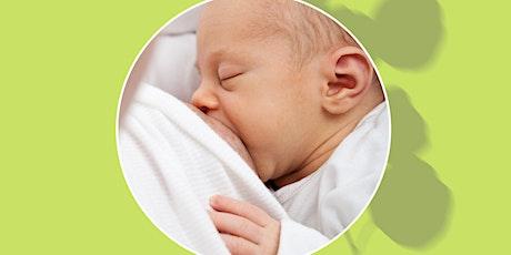 Online Breastfeeding 101 Class (LIVE) tickets
