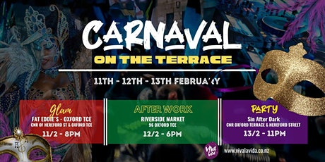 Carnaval on the Terrace tickets