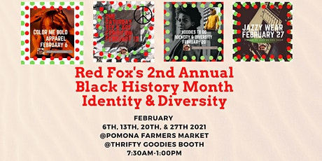 Red Fox's 2nd Annual Black History Month: Identity & Diversity tickets