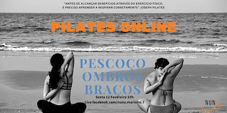 Pilates Online (pescoço, ombros e braços) tickets