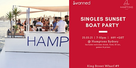 Singles  Sunset Boat Party tickets