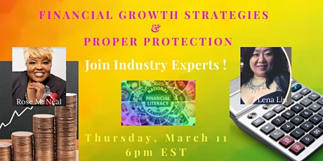 Financial Growth Strategies & Proper Protection tickets