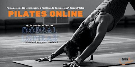 Pilates Online (abdominais) tickets