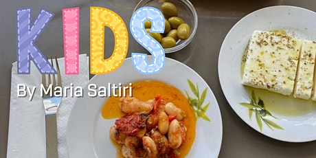 Kid's Cooking Class with Greek Beans by Maria Saltiri tickets