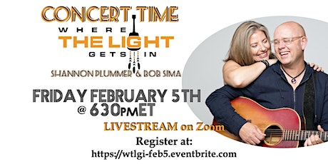 February Concert: Where the Light Gets In tickets
