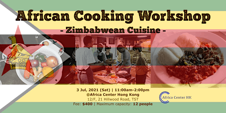 African Cooking Workshop -Zimbabwean Cuisine- tickets