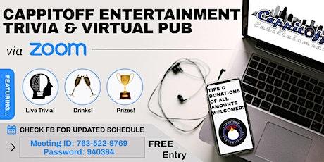 FREE Zoom (Music) Trivia & Virtual Pub tickets