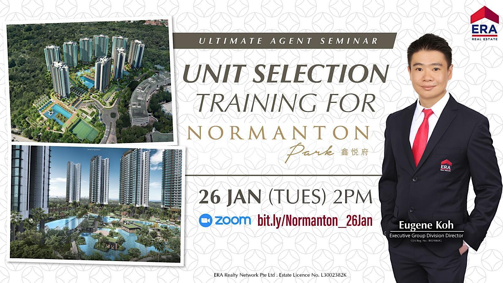 Unit Selection Training for Normanton Park