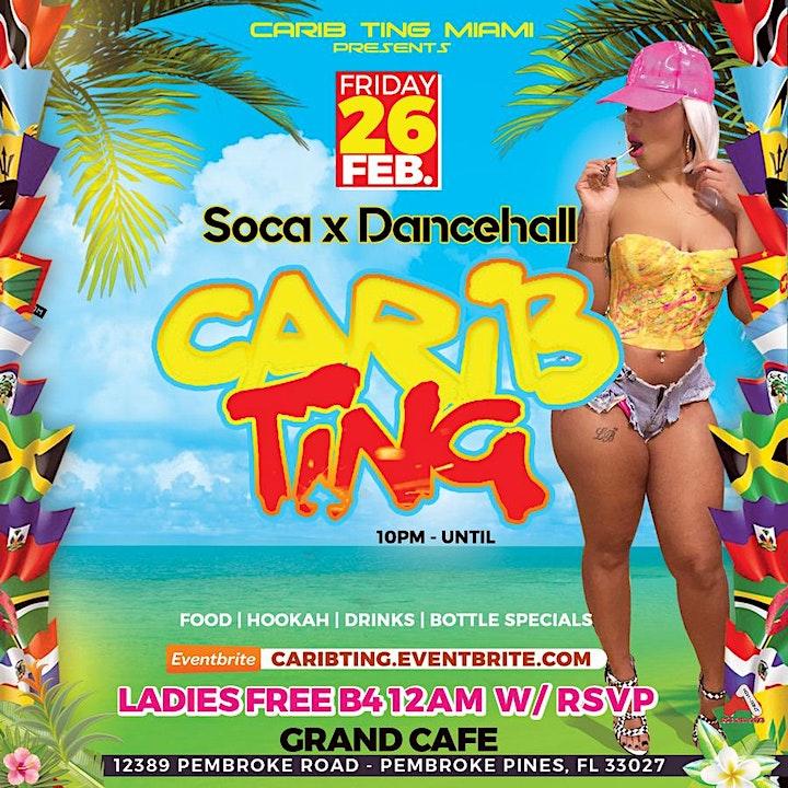 Carib Ting : Soca x Dancehall image