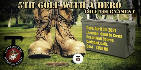 "5th ""Golf with a Hero"" Golf Tournament tickets"