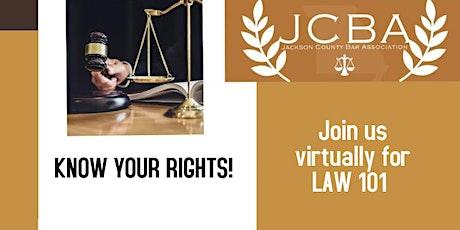 Law 101 - Traffic/Municipal Court entradas