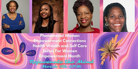 PWEC Women Empowerment Mindy, Body, Spirit Series & Fundraiser tickets