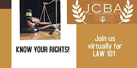 Law 101 - Juvenile Law tickets