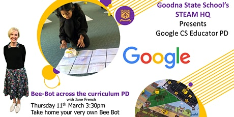 GSS's STEAM HQ Presents Bee-Bot across the curriculum PD tickets