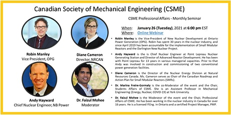 CSME January Monthly Webinar Speaker Series tickets