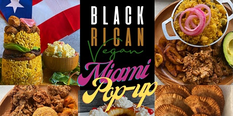 Black Rican Vegan Miami Pop-up tickets