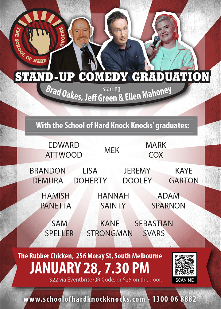 Stand-up Comedy @ The Rubber Chicken - with Jeff Green, Brad Oakes and more image
