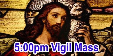 5:00pm Saturday Vigil Mass (OUTDOOR SCHOOL PARKING AREA) tickets