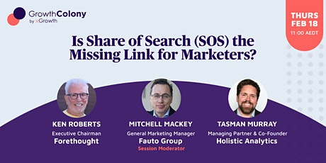 Is Share of Search (SOS) the Missing Link for Marketers? tickets