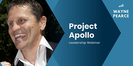 Project Apollo Leadership Webinar bilhetes