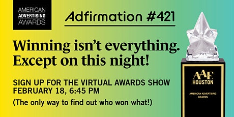 2021 American Advertising Awards Virtual Awards Show tickets