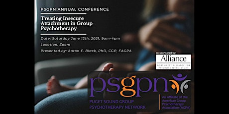 June 2021, Treating Insecure Attachment in Group Psychotherapy tickets