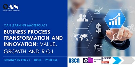 Business Process Transformation and Innovation: Value, Growth and R.O.I tickets