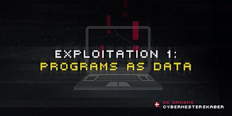 Exploitation 1: Programmer som data entradas