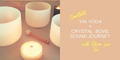 Yin Yoga + Crystal Bowl Sound Journey tickets