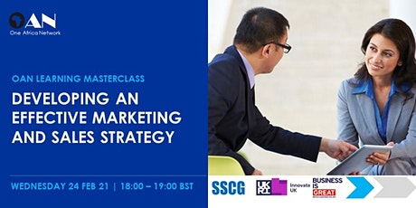 Developing an Effective Marketing and Sales Strategy tickets