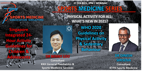 Sports Medicine Series - Physical Activity for All: What's New in 2021? tickets
