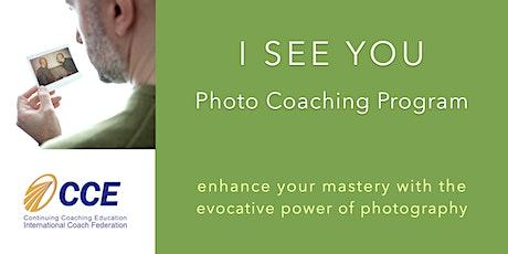 I SEE YOU Photo Coaching Program - On line & Team edition biglietti