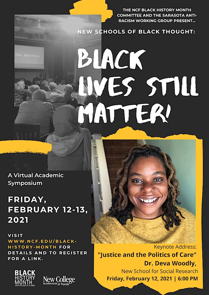Black Lives Still Matter - New Schools of Black Thought Academic Symposium image