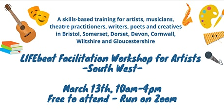 LIFEbeat Facilitation Workshop for Artists (South West) tickets