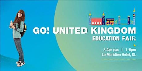 Go! United Kingdom Education Fair tickets