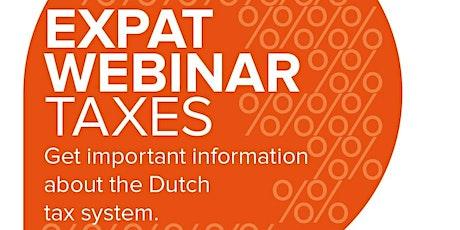 Expat Webinar: The Dutch Tax System tickets