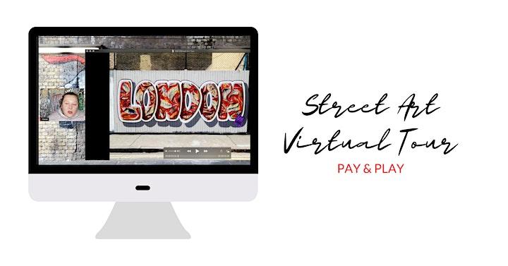 Street Art Virtual Tour - PAY & PLAY image