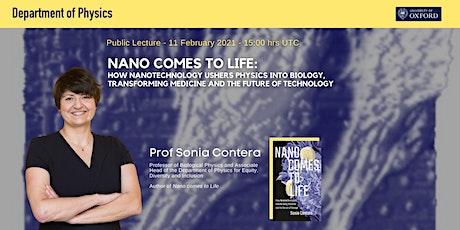Nano comes to life - Public lecture tickets