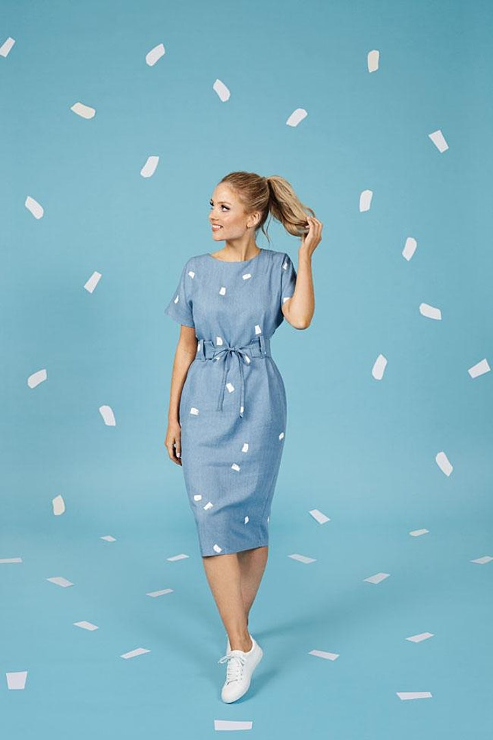 Make Your Own Suki Dress - Garment of the Month image