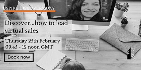 The Uspire Discovery Day - Discover...how to lead virtual sales tickets