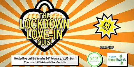THE LOCKDOWN LOVE-IN QUIZ! tickets