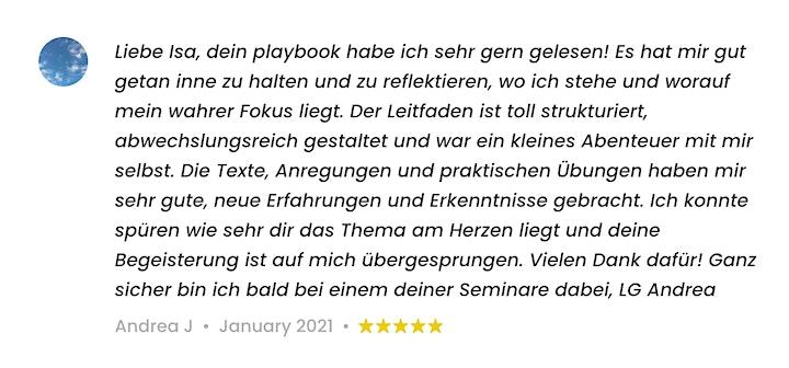 Playbook - Leben und Arbeiten im Einklang image