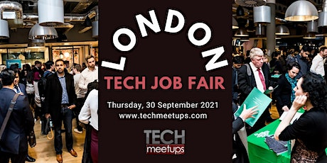 London Tech Job Fair by Techmeetups tickets