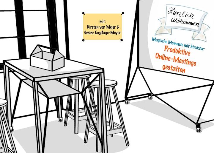 Online-Moderation für Führungskräfte  +3.Lernhappen: Meetings gestalten+: Bild