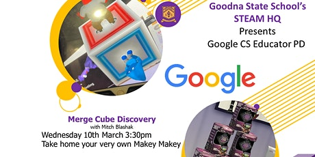 GSS's STEAM HQ Presents Merge Cube Discovery tickets