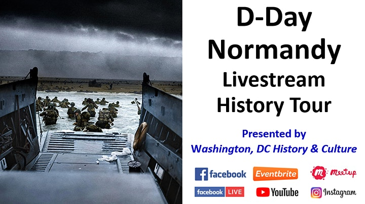 D-Day - Normandy: Livestream History Tour image