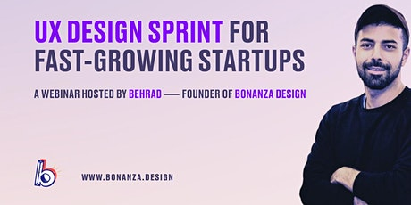 UX Design Sprint for Fast-Growing Startups tickets