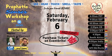 RHG Prophetic Senses Workshop tickets
