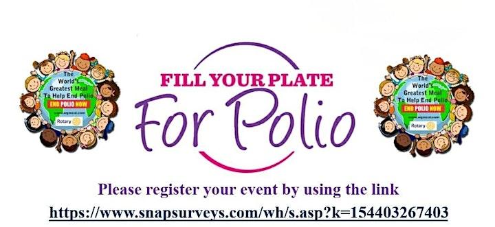 Rotary's Birthday - Purple4Polio Tea Party image